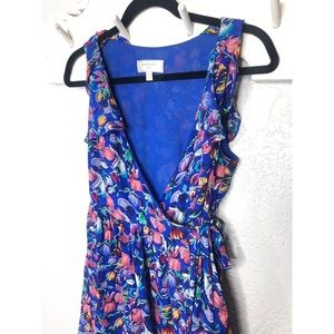 Anthro Moulinette Soeurs Blooming Sapphire Dress 4